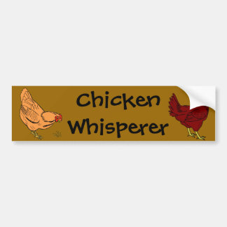 Chicken Whisperer Bumper Sticker