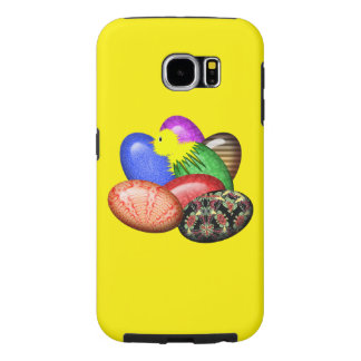 Chicken with Easter Eggs #1 Samsung Galaxy S6 Cases