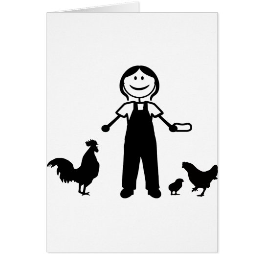 Chickenlady Card