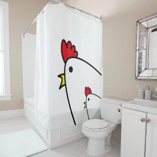 Chicken Shower Curtains | Zazzle Canada