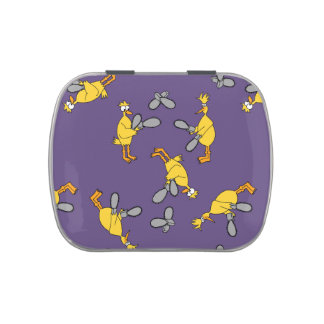 Chickens and Chainsaws Purple