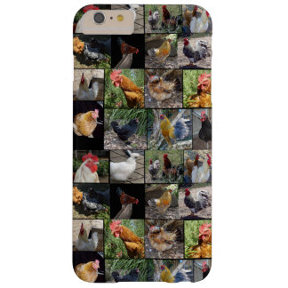 Chickens And Roosters Photo Collage, Barely There iPhone 6 Plus Case