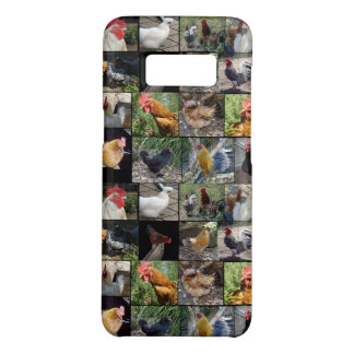 Chickens And Roosters Photo Collage, Case-Mate Samsung Galaxy S8 Case