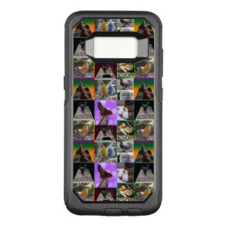 Chickens And Roosters Photo Collage, OtterBox Commuter Samsung Galaxy S8 Case