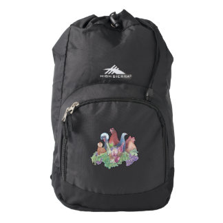 Chickens and Wine Backpack