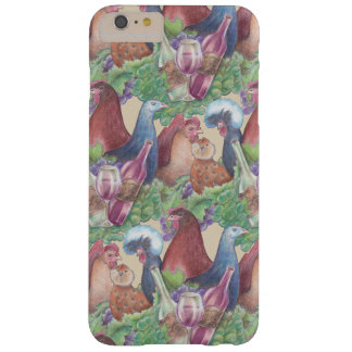 Chickens and Wine Barely There iPhone 6 Plus Case