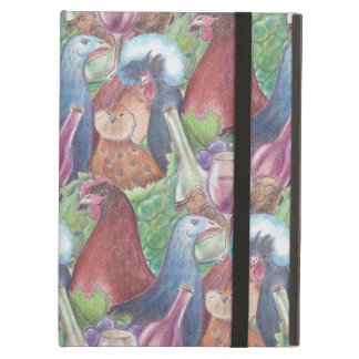 Chickens and Wine iPad Air Case