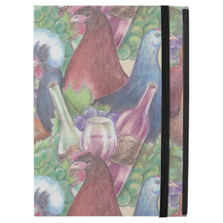 "Chickens and Wine iPad Pro 12.9"" Case"