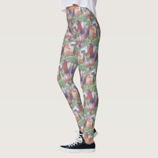 Chickens and Wine Leggings
