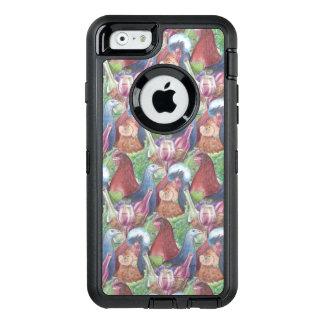 Chickens and Wine OtterBox Defender iPhone Case