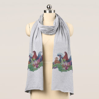 Chickens and Wine Scarf