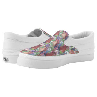 Chickens and Wine Slip-On Sneakers