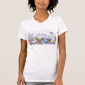 Chickens by Lynne Freeman T-Shirt