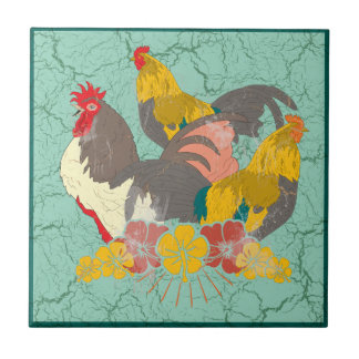Chicken's Roosting Tiles