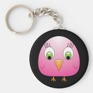 chickie B Pink Keychain