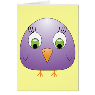 chickie B Purple Card