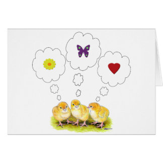 Chickie Daydreams Card
