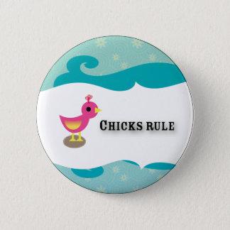 chicks 2 inch round button