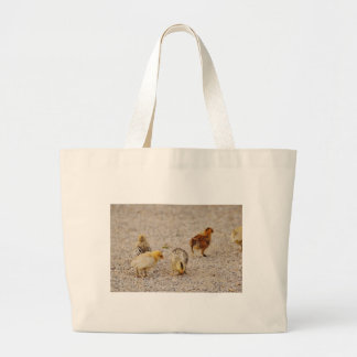 Chicks #2 large tote bag