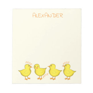 """Chicks 5.5"""" x 6"""" Notepad - 40 pages"""