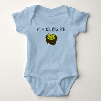 Chicks Dig Me Baby Bodysuit