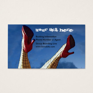 Chicks Dig Musicians Business Card