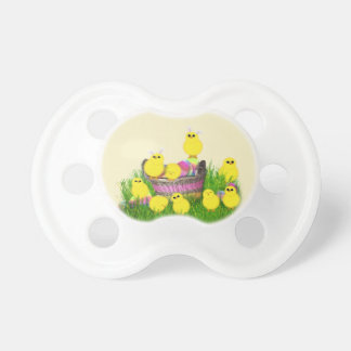 Chicks 'n a Easter Basket Pacifier