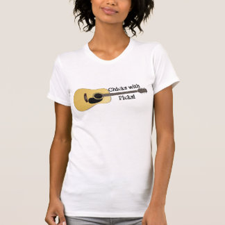 Chicks with Picks-Acoustic T-Shirt