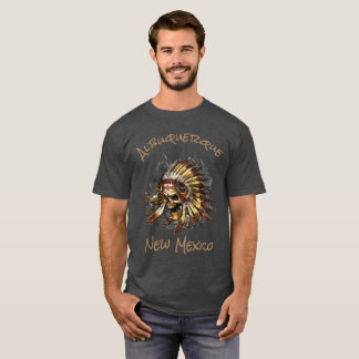 Chief Bones Albuquerque New Mexico T-Shirt