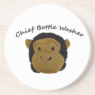 Chief Bottle Washer Coaster