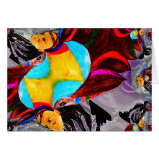Chief Colour Spirit multi poducts Greeting Card