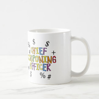 Chief Couponing Officer- www.GrammarGumbo.com Coffee Mug