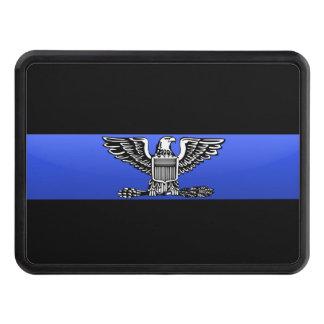 Chief (full bird) Rank- Thin Blue Line Hitch Cover