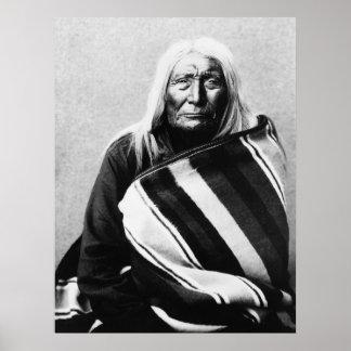 Chief Husis-Moxmox: c1900 Poster