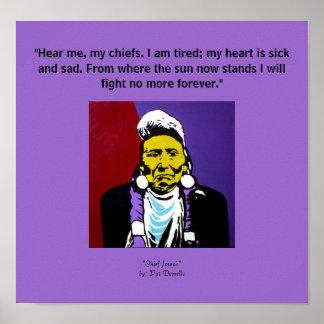 """Chief Joseph""  print"