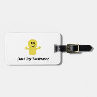 Chief Joy Facilitator Luggage Tag