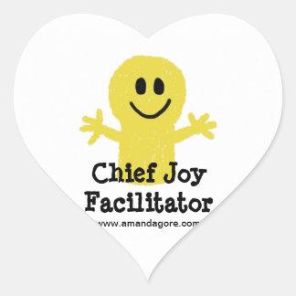 Chief Joy Facilitator Stickers