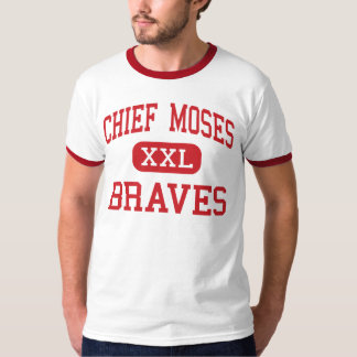Chief Moses - Braves - Middle - Moses Lake T-Shirt