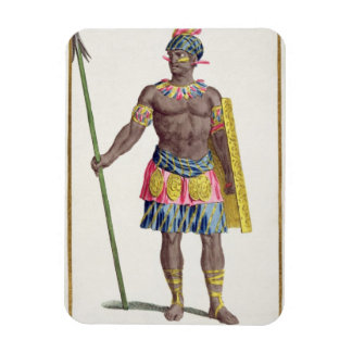 Chief of the Hondurans, 1780 (coloured engraving) Rectangular Photo Magnet