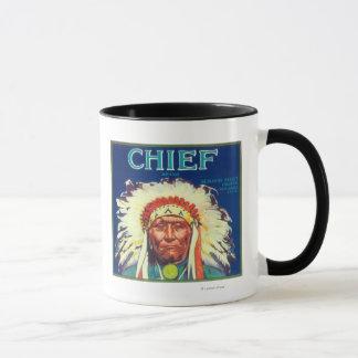 Chief Orange LabelRedlands, CA Mug