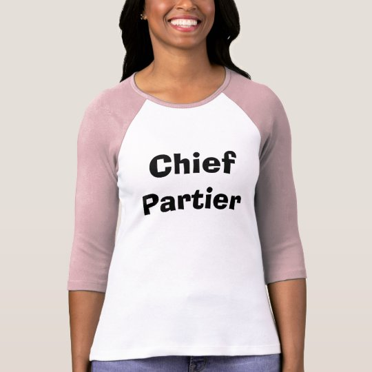 Chief Partier T-Shirt