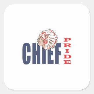 CHIEF PRIDE SQUARE STICKER