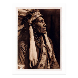 Chief Raven Blanket - Nez Perce - Vintage Postcard
