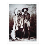 Chief Sitting Bull (1831-90) on tour with Buffalo Postcard