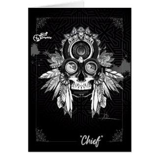 Chief Tribal Card