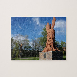 Chief Wasatch Statue Murray Park, Salt Lake City Puzzle