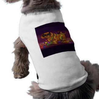 Chien brillant manteau pour animal domestique