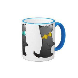 Chien de Scotty en abondance Tasse À Café