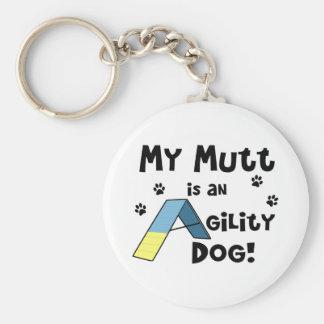 Chien Keychain d'agilité de chien Porte-clés