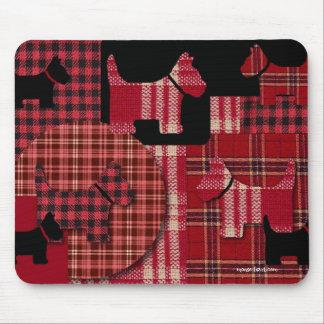Chien Mousepad de Scotty Tapis De Souris